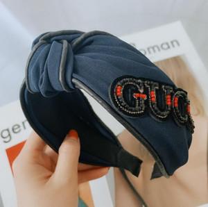 Designerheadband Moda Kadınlar BrandHeadbands Sıcak Lüks Kızlar Saç Bantları Eşarp Saç Aksesuarları Hediyeler Headwraps Gzx 2020529K