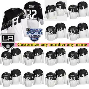 2020 Stadium Series Men's Los Angeles Kings jerseys 99 Wayne Gretzky 32 Quick Kopitar Doughty custom any number any name hockey jersey