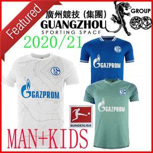 20 21 Schalke 04 الثالث بعيدا أطفال كرة القدم الفانيلة 2021 2020 الصفحة الرئيسية 4 أوزان مكينيا Caligiuri رامان بنتالف بورغستالر لكرة القدم قمصان مايلوت