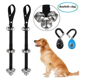 Pet training rattles, pet doorbells, pet bells, toys, funny cats, toys, dogs, and go out door bells when going out in the toilet.