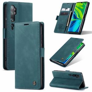 Luxe Support Wallet Flip Phone Cases pour Xiaomi Mi 9 9T Note 10 redmi K20 K30 Remarque Pro 8 9 9S Couverture arrière
