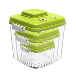 Vacuum Containers Food Seal Food Saver Storage Pot Vacuum Sealer Large Capacity Plastic Containers 500Ml+1400Ml+3000Ml
