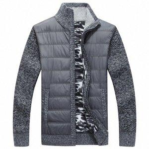 NAMTHEUN 2020 Kış erkekler yün ceket yün hırka kas Fit Trikotaj bluz Sonbahar için Şık Erkek Giyim artı boyutu ceket Ch1g #