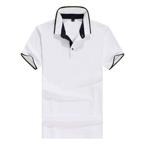 20s Summer Mens Designer Polos Fashion Mens T Shirt Casual Solid Color Polo Shirt Tops Breathable Tees 9 Colors Size S-3XL