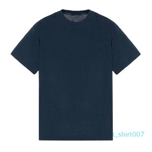 T-shirt do logotipo patch Europeia Mercerização 19SS Luxo Topstoney mercerização Mens Cotton Designer camisetas T07