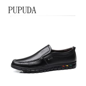 Pupuda Hommes d'affaires Hommes Chaussures confortables Chaussures Atmospheric d'affaires Costume Homme 2020