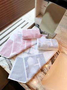 Clássico toalha de luxo sinalização banho H e toalha quadrado definir material de algodão macio confortável para recém-nascido presentes do bebê e crianças