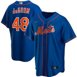 Cheap Jacob deGrom # 48 dos homens TODAS AS CORES 2020 Mens costurado XS-6XL Baseball Jerseys