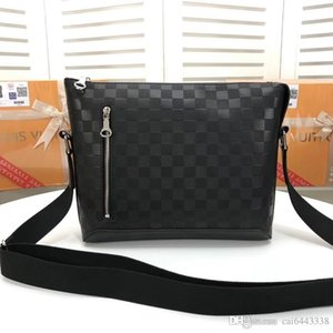 #42420 5A L Brand Men Crossbody Bags DISCOVERY District V Cross Body Bags Damier Infini Postman Bag Cross Body Outdoor Male Shoulder Bag