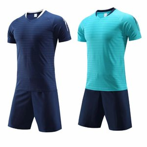 New Adult light board Blue soccer clothes jersey 116 Blue soccer jersey clothes suit male adult football jersey Customers Order Link 11