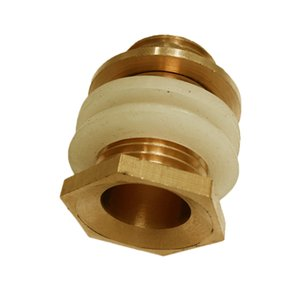 Brass Bulkead Fitting, Bulk Head Pipe Fitting, Bulkhead Coupling, Water Tank Fitting,