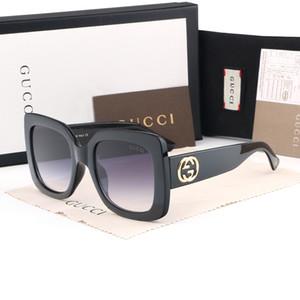 Gucci Herren-Designer-Sonnenbrille Frauen Designer übergroßen Männer des lunettes de soleil Sonnenbrille Flieger polarisierte Katzenauge T2-Brille