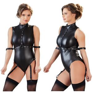 Femmes Sex érotique Lingerie Sexy Club de nuit Costumes Sous-vêtements Femme Fétiche BDSM Bondage Sexe Porno Bodysuit Vêtements Slave Jeu T200716