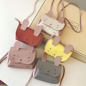Fashion fashion super cute creative coin purse cute children cartoon rabbit single shoulder bag shoulder slanting mini bag