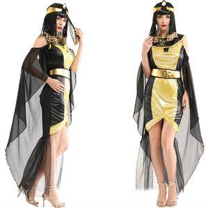 ZiNV9 Halloween cosplaycostume adult Egyptian pharaoh queen W-0272 Arabian princess Formal Halloween cosplaycostume adult Egyptian pharaoh q