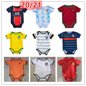 2020 2021 Paris psg Real madrid Juventus france barcelone Liverpool Germany Spain Italy Brazil Manchester United Netherlands 6-18 mois maillot bébé maillot de foot baby Survêtement