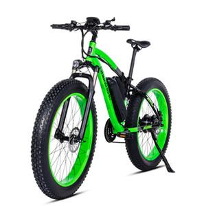 26 pouces graisse ebike vélo de montagne électrique du moteur électrique de neige 48V500w vélo Batterie au lithium de 17Ah vitesse max 40 kmh EMTB