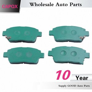CAPQX Front Brake Pad 04465-13050 04465-0W080 For YARIS VERSO CELICA MR2 PRIUS COROLLA ESTATE 1999-2008 fguR#