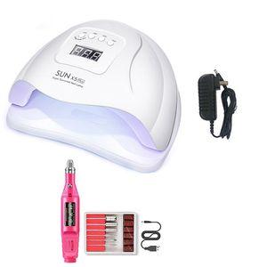 Nail Осушитель Led Ультрафиолетовый свет для гелевых ногтей Sum X5 Plus машина ВС X5 Ув Led лампы Розовый Professionnelle Set Сушилка лампы Рождество