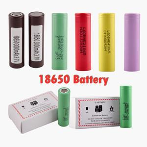Top Quality HG2 3000mAh HE2 HE4 25R 2500mAh Battery 18650 35A Grau Um celular E Cig Mod recarregável Li-ion celular