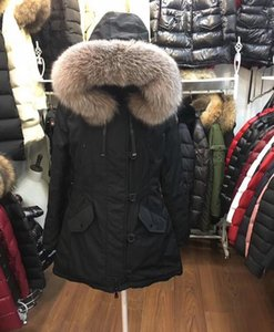 Classic France Brand 2020 Women Winter Jackets M Brand Anorak Long Down Jacket Womens Warm Down Long Coats Thickening Female Clothes Parka