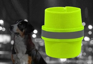 2pcs Reflective Wrist Band For Dog Pets Safety Leg Wraps Glow In The Dark Dogs Walking Legs Bands High Visibility Pet Supplies 030