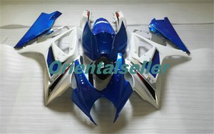 Body For SUZUKI GSXR-1000 GSX-R1000 hot GSXR1000 07 08 Bodywork GSX R1000 07 08 K7 GSXR 1000 2007 2008 blue white AC02 Full Fairing kit