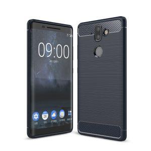 Углеродного волокна чехол для Nokia 1 2 3 5 6 7 8 X6 6.1 Плюс 9 8 сирокко 7.1 Х7 8.1 6.1 2.1 3.1 5.1 4.2 Х3 X71 3.2 2.2 6.2 7.2 Матовый ТПУ