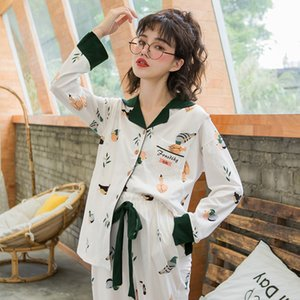 Сестринское Пижама для беременных Nightgown вскармливание белье Мода мягкий хлопок печати Беременность Nursing Пижама Homewear A223