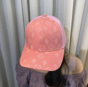 A new generation hair donner baseball cap network Korean version of female instagram web celebrity star with summer mens designer hats