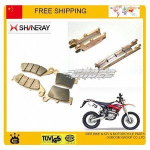 shineary X2 X2X 250cc front and rear disc brake pads full set 4pc motorcycle accessories free shipping JFVS#