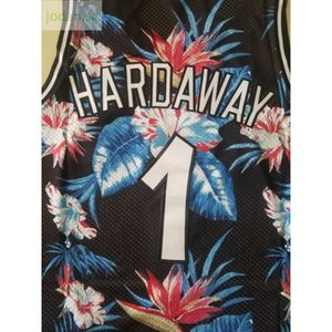 Cheap 570 Basketball Sports Jerseys Sportswear Hardaway #1 S-xxl Top Stitched Jersey