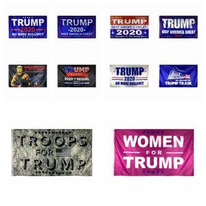 90 * 150 USA-Präsident Wahl Flagge Donald Trump 2020 Keep America großer Präsident Banner Flagge Amerikanische Wahlunterstützungs Flagge 11style RRA3301