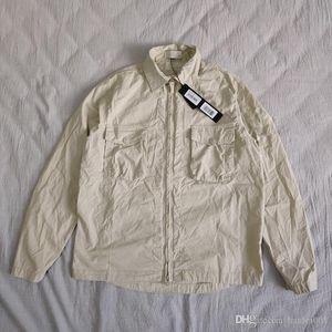 19SS 103F2 GHOST PIECE Over Baumwolle Nylon TELA TOPST0NEY Fashion Shirt Männer Frauen Manteljacke HFLSCS045