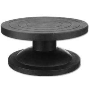 HLZS-30Cm Pottery Wheel Modelling Platform Sculpting Turntable Model Making Clay Sculpture Tools Round Rotary Turn Plate Pottery