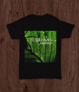 New Day Submersed T Shirt 32 Foglie panoramica post-grunge fascia scura S M L XL 2XL T-shirt Abbigliamento Grandi Dimensioni-XXL