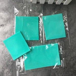 Mold Stripe Lace Mat Mermaid scala di pesci del silicone Griglia fondente goffratrice Texture torta Mold Decoration Gumpaste stampo di cottura Strumenti