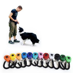 Кинологический Clicker с регулируемым ремешком Собака Нажмите Trainer помощи Sound Key для поведенческой Training JK2007XB