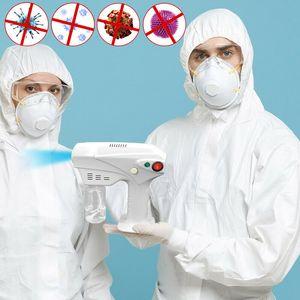 2020 New Hot Handheld Electric Hair Nano Spray Gun Blue Ray Disinfectant Sterilizer 1200W Big Power DHL UPS free shipping