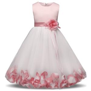 Toddler Girl Dresses Little Princess Flower Wedding Birthday School Wear Children Clothing Kids Party Dresses For Girl 4 8 10T
