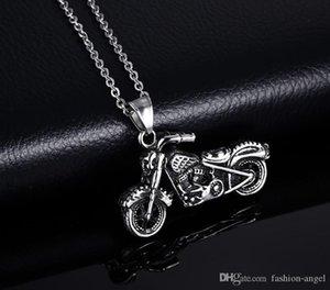 I34 Valentinstag Geschenk- gemischte rostfreier Befehl Männer Stahl Halskette motocycle Anhänger mit Kette Mode-Accessoires wholes