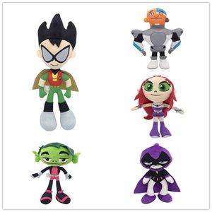 Дети игрушки чучела плюшевые игрушки Teen Titans Go для ребенка праздник игрушки подарки 25см