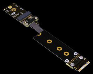 M.2 Wifi de transferencia de extensión de la placa base M.2 NVMe soporte de interfaz tarjeta de red inalámbrica tecla m para akey cable convertidor