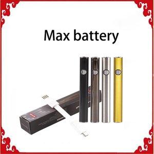 Originale Amigo Max Preriscaldare batteria 380mAh tensione variabile VV Vape Mod Per 510 Thick olio Liberty V9 vaporizzatore cartucce serbatoio