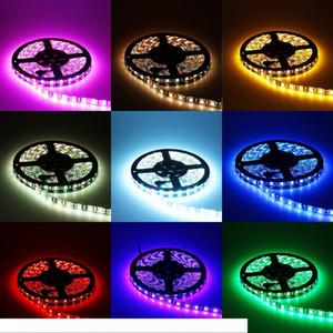 5050 60LED m Blackboard RGB Colorful Will Change Light Kitchen Bedroom Soft Lamp LED Epoxy Soft Strip Light 12V