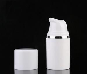 Losyon BB krem vakumlu tüp WB2251 için yeni beyaz PP 15ml havasız şişe havasız pompa şişe