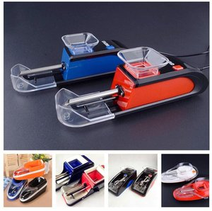 Automatic Electric Cigarette Injector Rolling Machine Tobacco Maker Roller Electronic Grinder Spice Crusher Dry Herb Vaporizer 5 Styles