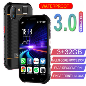 Original Soyes S10 completa 4G IP68 Waterproof Mini Smartphone 32GB Android MTK6737 1800mAh Soyes XS Telemóvel móvel NFC face ID Fingerprint