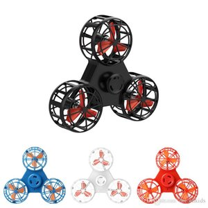 Mini Fidget Spinner Hand Flying Spinning Top Autism Anxiety Stress Release Toy Great Funny Gift Toys For Children