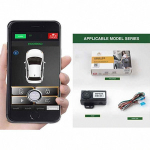 Car alarm car Central Locking Automatic trunk opening keyless entry system central lock giordon starline a93 Automatically open hk7L#